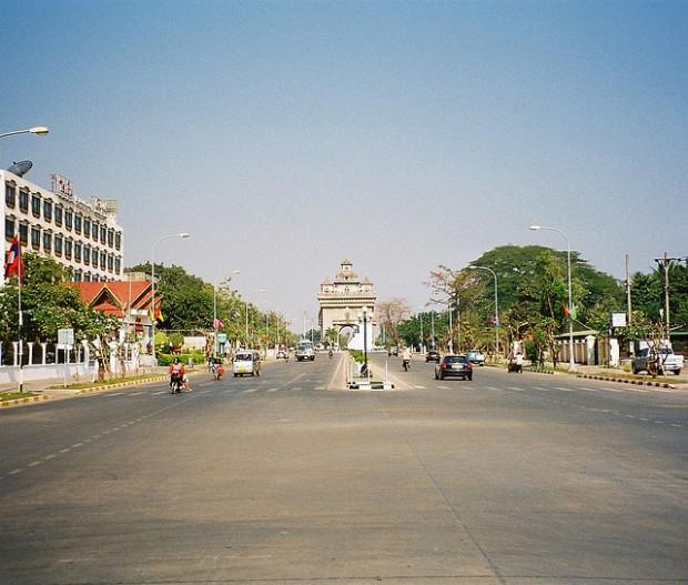 Vientiane-Traffic
